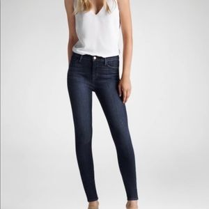J Brand Maria High Rise Skinny in Oblivion